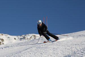 LB pre season skiing