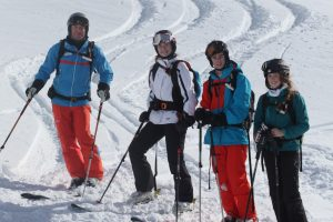 off piste skiing for teens