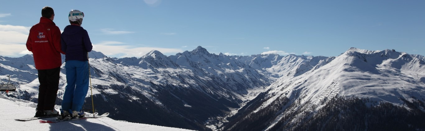 Skiing in Klosters