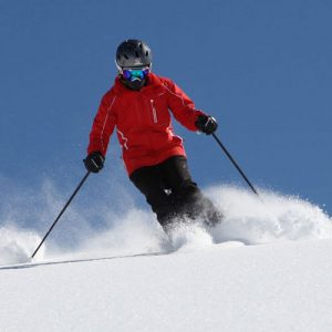Off piste skiing for teenagers