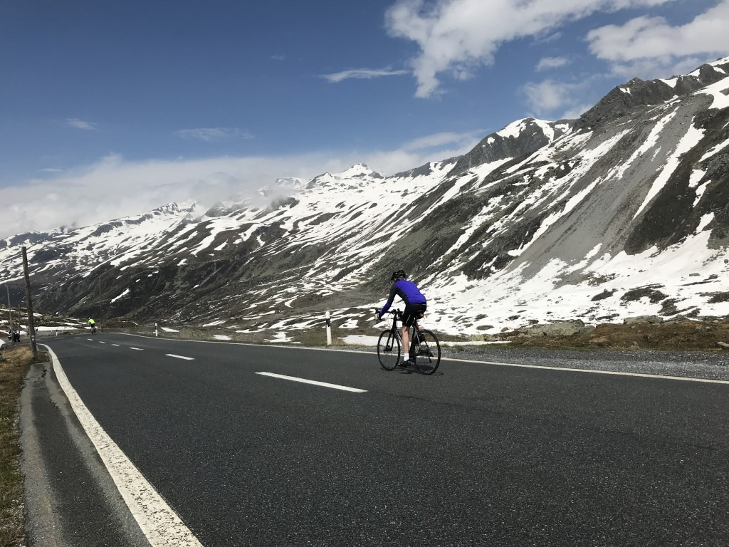 Klosters cycling with PT Ski